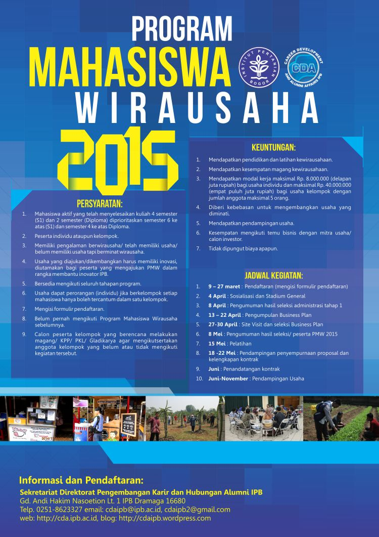 Program Mahasiswa Wirausaha 2015